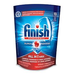 Detergente Lavavajillas Todo en 1 Finish (7 x 13 Tabletas)