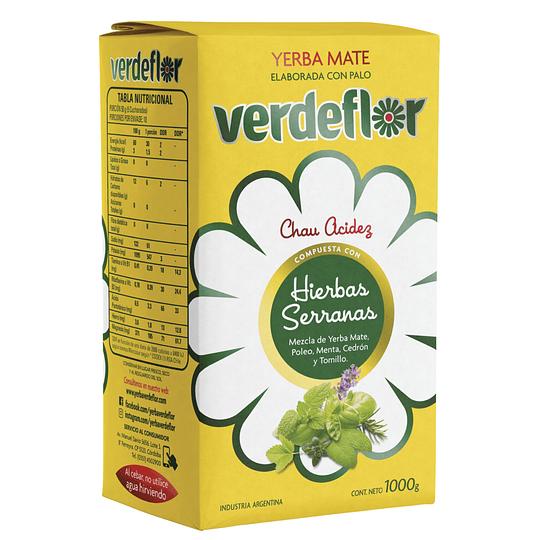 Yerba Mate Verdeflor (3 x 1 KG)