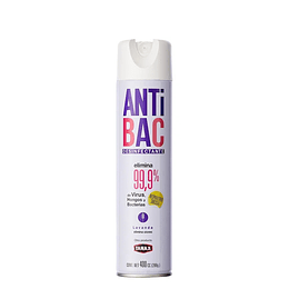 Desinfectante Aerosol Tanax Antibac Lavanda (6 x 400 ML)