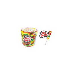 Chupetes de Caramelo Pico Dulce 48UD