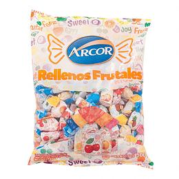 Caramelos Frutales Rellenos Arcor 100 UD