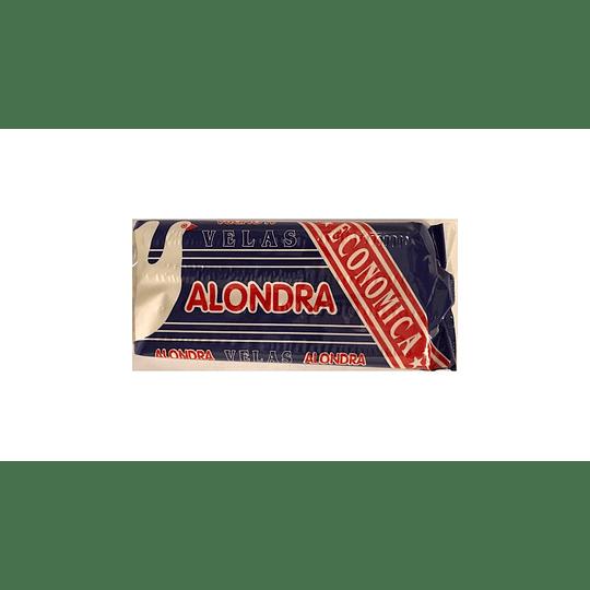 Velas Económicas Alondra (13 x 4 UD)