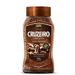 Café Cruzeiro Liofilizado 100% Arábica Frasco (6 x 170 GR)