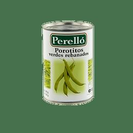 Porotos Verdes Rebanados Perelló (12 x 300 GR)