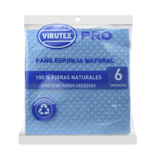 Paño Esponja Virutex (4 x 6 UD)