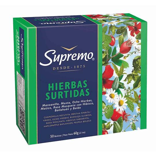Infusión de Hierbas Surtidas Supremo (10 x 50 bolsitas)