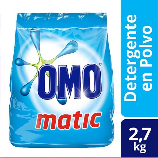Detergente en Polvo Omo Matic (3 x 2.7 KG)