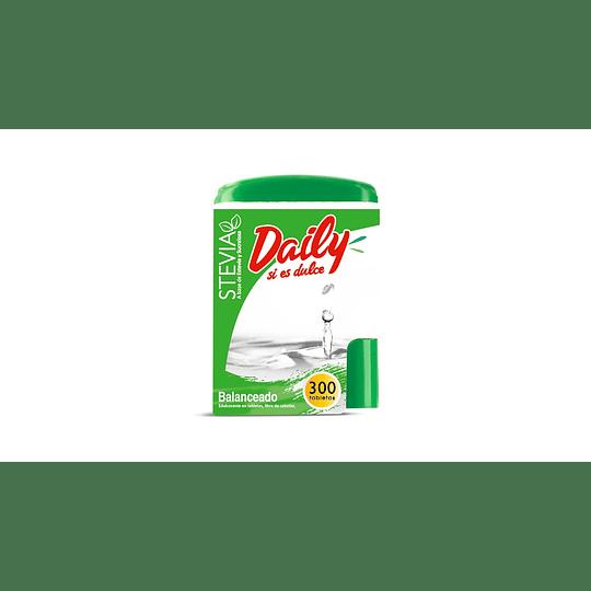 Endulzante Stevia Tabletas Daily (5 x 300 UD)