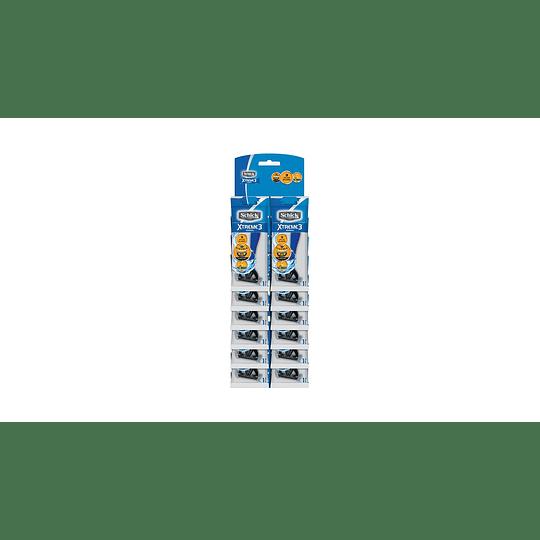 Máquinas Afeitar Xtreme 3 (12 UD)