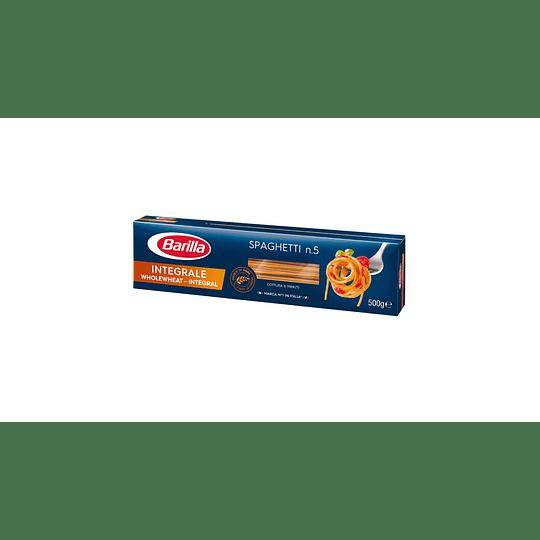 Fideos Spaghetti 5 Integrales Barilla 500 GR