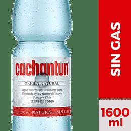 Agua Mineral Sin Gas Cachantun (6 x 1.6 LT)
