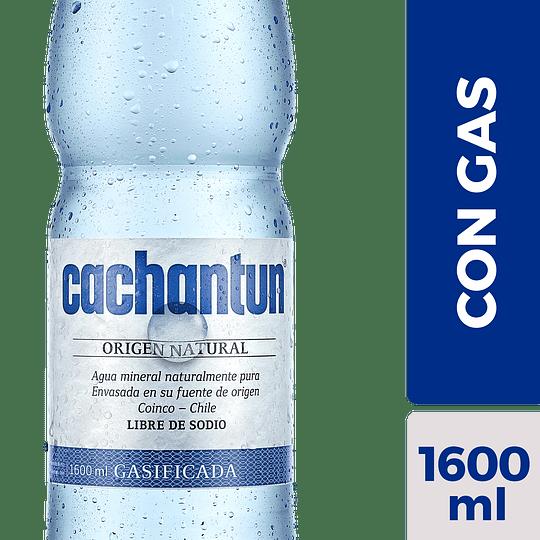 Agua Mineral Con Gas Cachantun (6 x 1.6 LT)