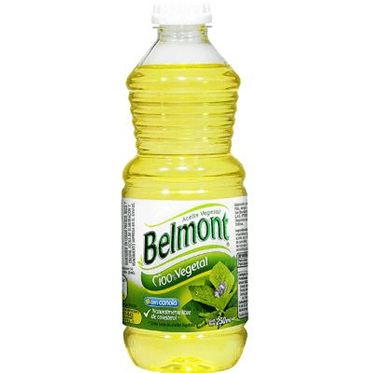 Aceite Vegetal Belmont (10 x 250 ML)