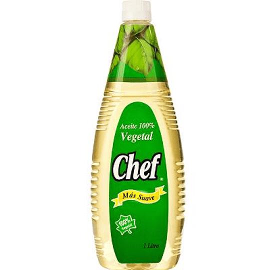 Aceite Vegetal Chef (8 x 1 LT)