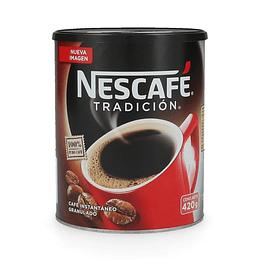 Nescafé Tradición Granulado Tarro 420 GR