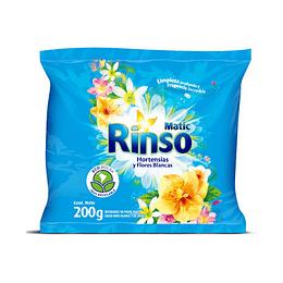 Detergente en Polvo Rinso Matic (27 x 200 GR)