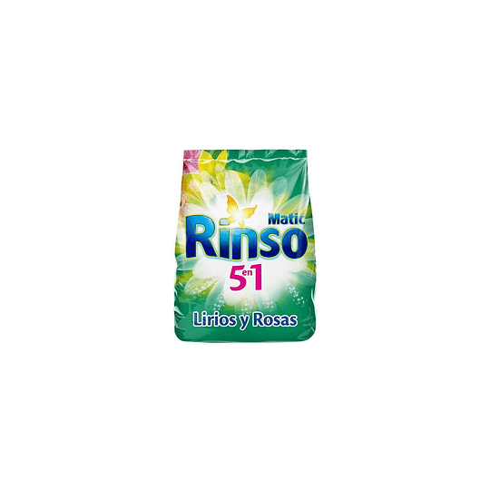 Detergente en Polvo Rinso Matic (15 x 350 GR)