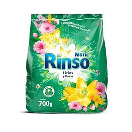Detergente en Polvo Rinso Matic (9 x 700 GR)