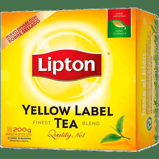 Té Lipton Yellow Label (8 x 100 Bolsitas)
