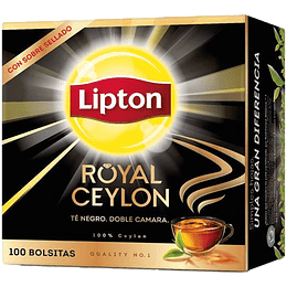 Té Lipton Royal Ceylon (8 x 100 Bolsitas)