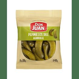 Pepinillos Dill Agridulces Don Juan (6 x 180 GR)