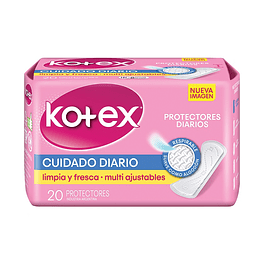Protector Diario Kotex (12 x 20 UD)