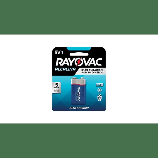 Batería Alcalina 9V Rayovac