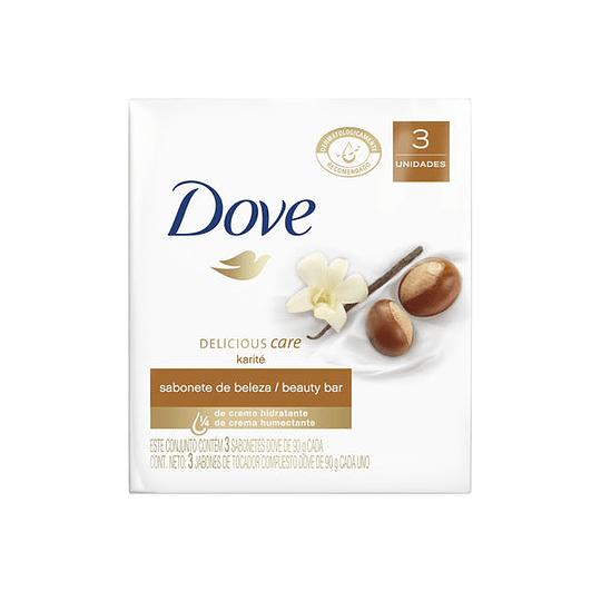 Jabón en Barra Dove Pack (4 x 3 UD)