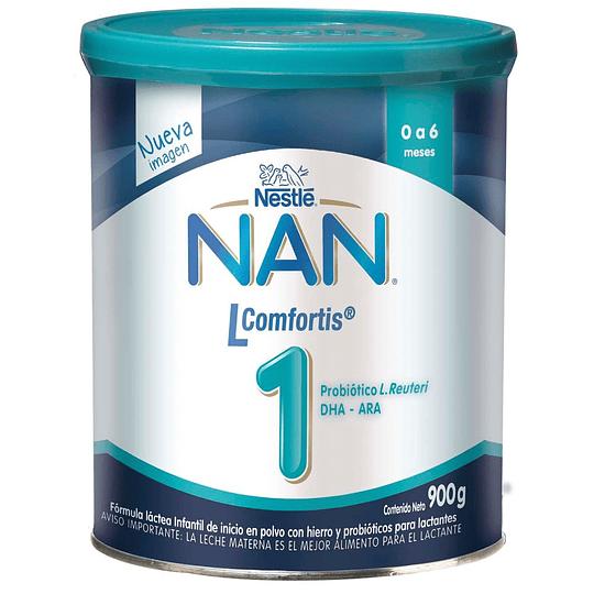 Leche NAN 1 Lcomfortis 900 GR (0-6 meses)