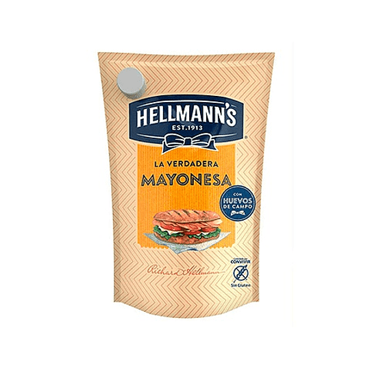 Mayonesa Hellmanns Doypack (6 x 670 GR)