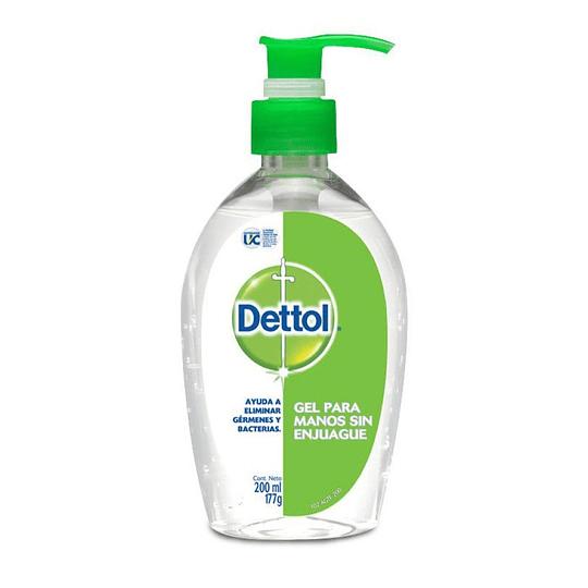 Gel Desinfectante para Manos Dettol (12 x 200 ML)