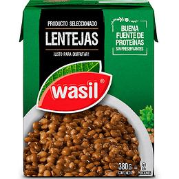 Lentejas Wasil (4 x 380 GR)