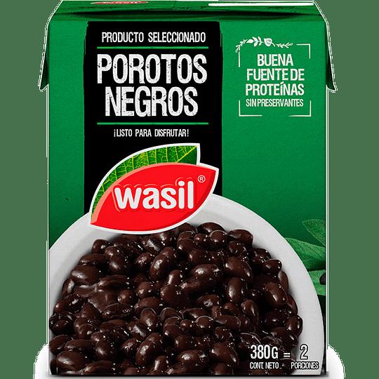 Porotos Negros Wasil (4 x 380 GR)