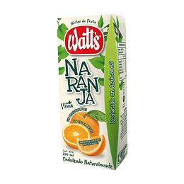 Néctar Watts Naranja (30 x 200 ML)