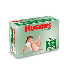 Pañal Huggies Active Sec Quincenal