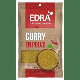 Curry en Polvo Edra (25 x 15 GR)