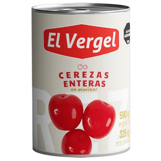 Cerezas Enteras El Vergel (6 x 580 GR)