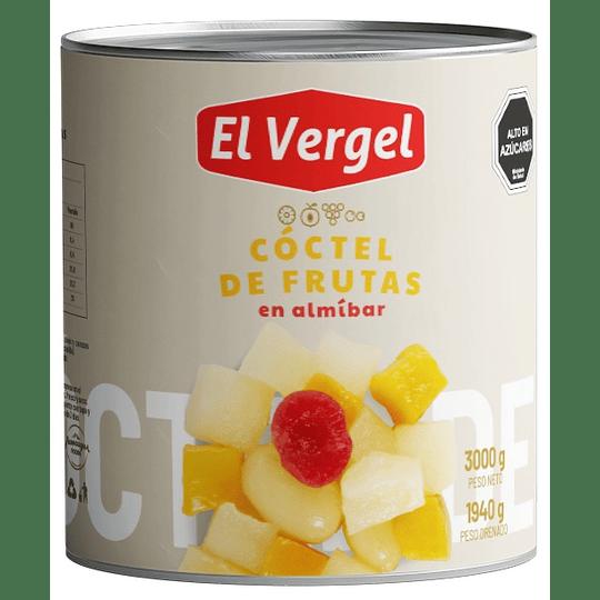 Cóctel de Frutas El Vergel (3 x 3 KG)