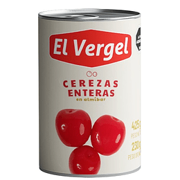 Cerezas Enteras El Vergel (6 x 415 GR)
