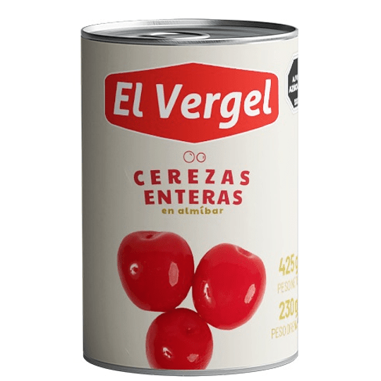 Cerezas Enteras El Vergel (6 x 415 GR)