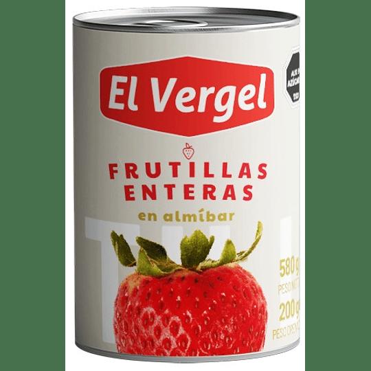 Frutillas Enteras El Vergel (6 x 570 GR)