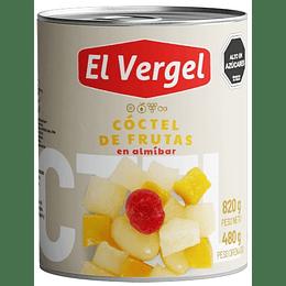 Cóctel de Frutas El Vergel (6 x 820 GR)