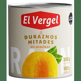 Duraznos El Vergel (3 x 3 KG)