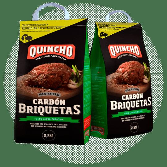 Carbón Briquetas Quincho 2.5kg