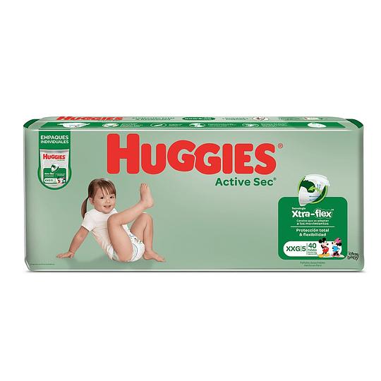 Pañal Huggies Active Sec Empaque Individual
