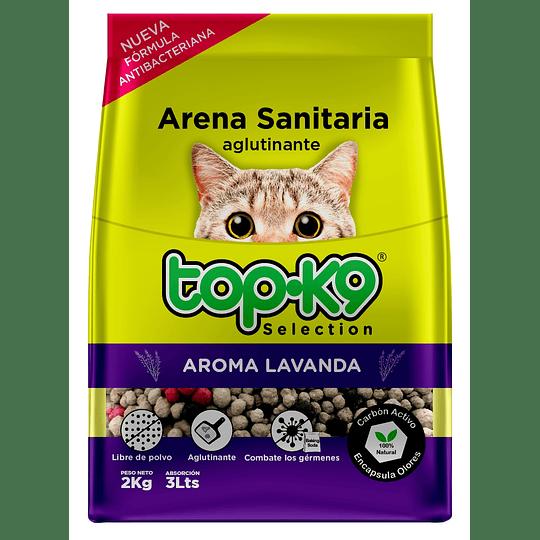 Arena Sanitaria para Gatos Topk9 Aglutinante (5 x 2 KG)