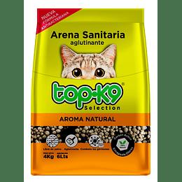 Arena Sanitaria para Gatos Topk9 Aglutinante (5 x 4 KG)