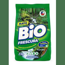 Detergente en Polvo Bio Frescura (7 x 2.5 KG)