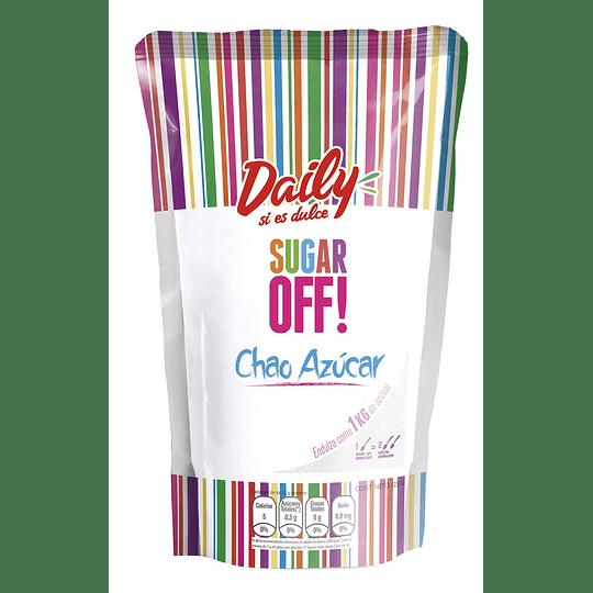 Endulzante Sugar Off Granulado Daily (6 x 125 G)
