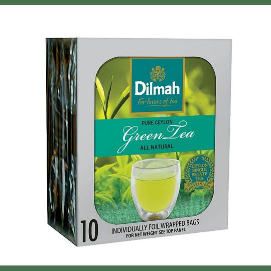 Té Verde Dilmah (12 x 10 Bolsitas)
